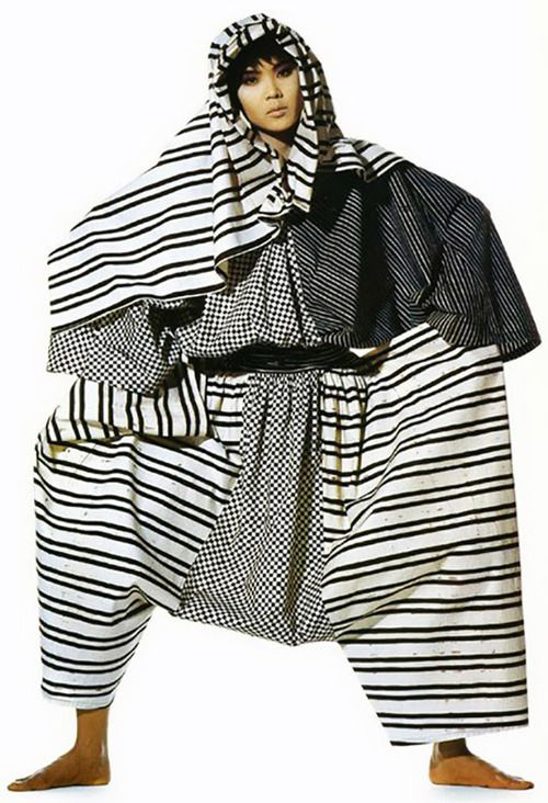 Inspiration Images for Subtraction Pattern Cutting | The Cutting Class. Issey Miyake and Irving Penn: Visual Dialogue Exhibition