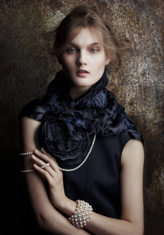 Kirsi Pyrhonen by Daniele Duella Vogue Japan January 2015