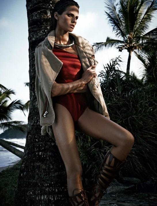 Izabel Goulart by Nicole Heiniger for Harper's Bazaar Brazil November 2014