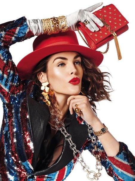 Bijoux: Hilary Rhoda By Giampaolo Sgura For Vogue Paris February 2015