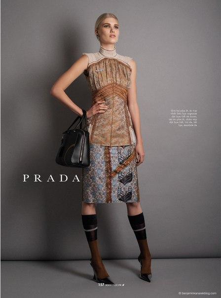 Spring Fashion 2015 Preview: Yulia Terentieva By Benjamin Kanarek For Elle Vietnam February 2015