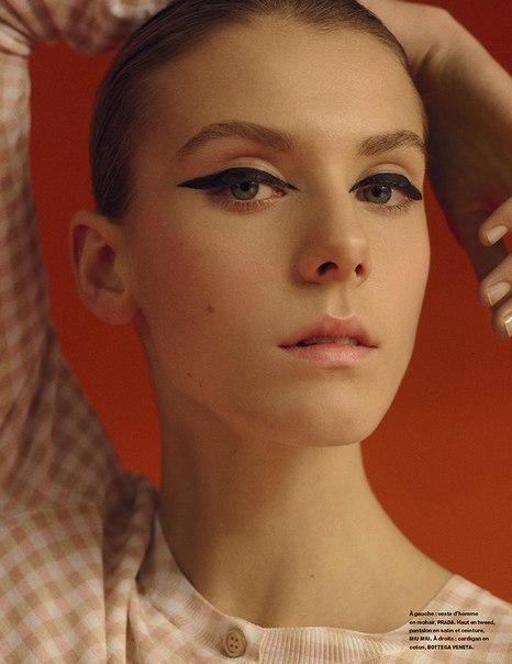 L'existentialiste: Phillipa Hemphrey By Dario Catellani For Numéro #160 February 2015