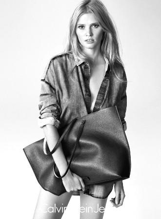 lara stone calvin klein jeans summer 2015 ad campaign