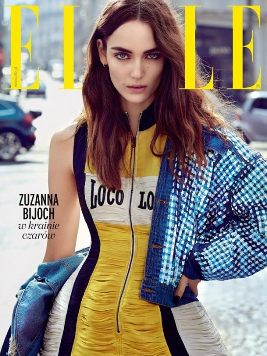 Zuzanna-Bijoch-by-Agata-Pospiesszynska-for-Elle-Poland-June-2015-cover