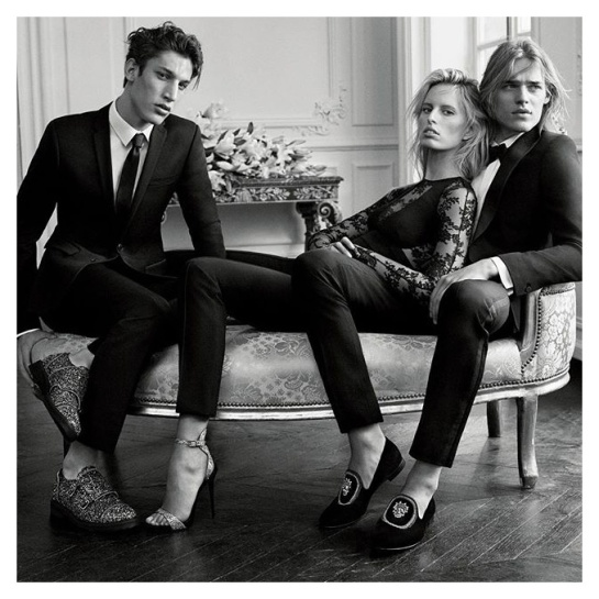 Preview Karolina Kurkova for Guiseppe Zanotti FW 1516 Campaign by Josh Olins