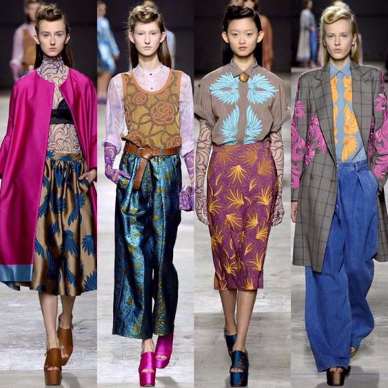 Dries Van Noten #pfw #paris #rtw #fashionweek #show