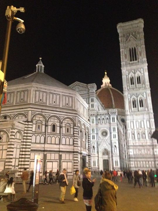 Last night in Florence  #walkingaround #florence #Italy #workisdone #restoration #magnificent #BaptisteryofStJohn