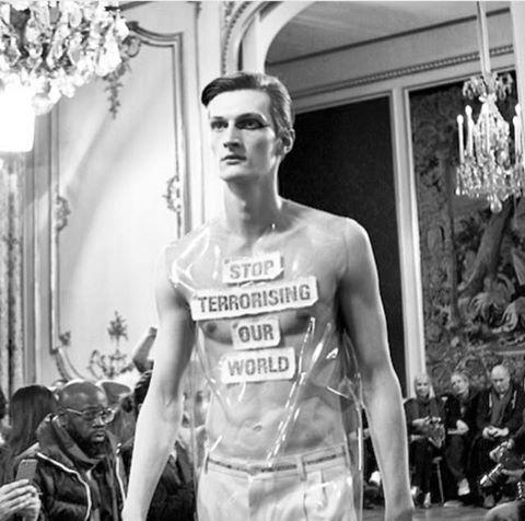#peace #mood  Walter van Beirendonck, Fall 2015 Paris Menswear Collection