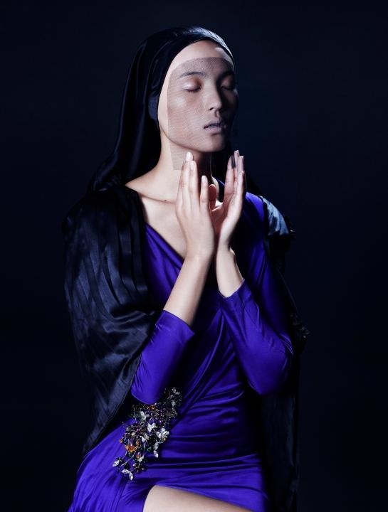 faith - luping, mayowa, dasha, marta, ola and paula by léa nielsen for veoir magazine!