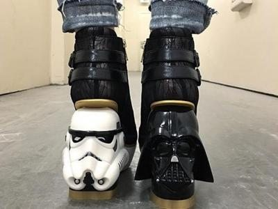 'Star Wars'George Lucas shoes by Irregular Choice